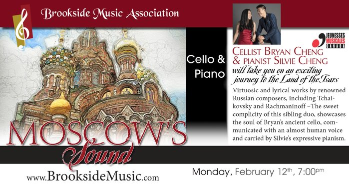 Brookside Music Association presents Moscow Sounds