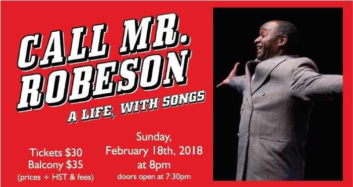 Call Mr. Robeson, A Life with Songs